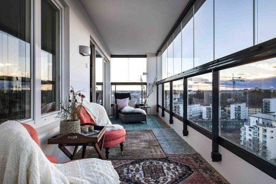 Lumon balkonbeglazing Fit in Glas Roosendaal